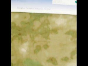 1000D النايلون أكسفورد مقاومة للماء التمويه النسيج PU المغلفة