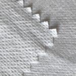 WF1 / O9TO5 SS + PTFE قماش غير منسوج مغلف بغشاء قابل للتنفس من مادة PTFE من نسيج بدلة واقية طبية