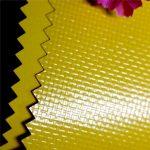 أفضل بيع أعلى جودة الصين قماش من القماش المشمع على الظهر