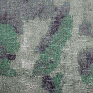 الطباعة العسكرية الاستاتيكيه ripstop نسيج القطن للجيش الملابس