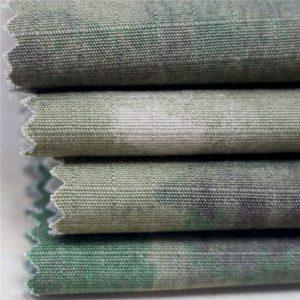 الطباعة العسكرية الاستاتيكيه ripstop نسيج القطن الملابس العسكرية