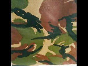 التمويه المطبوعة للماء ripstop النايلون أكسفورد الزي العسكري موحدة